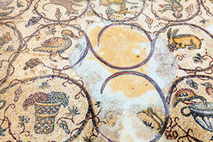 Floor mosaic Royalty Free Stock Images
