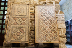 Floor mosaic fragment, Porec Stock Photos