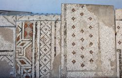 Floor mosaic-Roman period 2-3 rd century A:D.,. Modern day Eskisehir, Turkey stock images