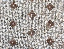 Floor mosaic-Roman period 2-3 rd century A:D.,. Modern day Eskisehir, Turkey royalty free stock image