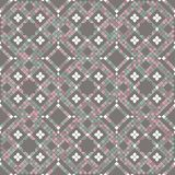 Floor mosaic tiles in pastel colors vector illustration