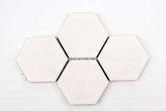 Floor octagonal ceramic Royalty Free Stock Image