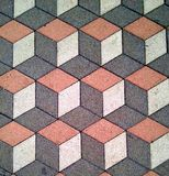 Floor patern. Public square tiles floor Royalty Free Stock Images
