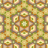 Floor pattern. Vector illustration of talian floor pattern Royalty Free Stock Images