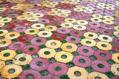 Floor pattern Stock Image