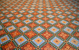 Floor Pattern. S in one of the forts in India stock photo