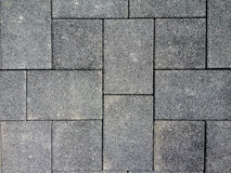 Floor pavement tiles hard stone Stock Images