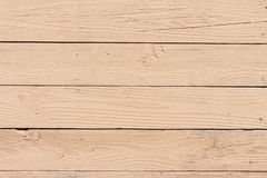 Floor from  pine boards processed by waterproofing impregna Stock Image