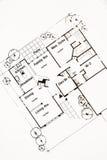 Floor plan. Home floor plan isolated on white background stock image
