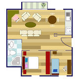 Floor plan Stock Photography