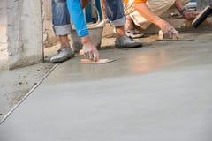 Floor plaster cement Stock Photo