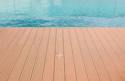 Floor beside the pool. Royalty Free Stock Photo
