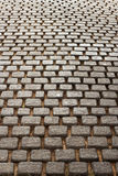 Floor quarry. On road  in  park Royalty Free Stock Photos