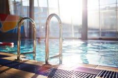 Modern swimming-pool Stock Photo