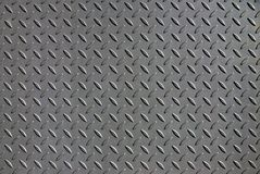 Floor ramp. Abstract shape from a steel plate floor cover royalty free stock images