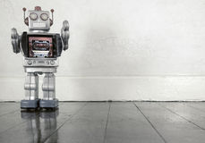 Floor robot Royalty Free Stock Image