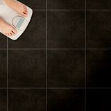 Floor scales Royalty Free Stock Image