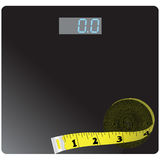 Floor scales Royalty Free Stock Photo