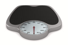Floor scales on  white background Stock Images