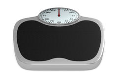 Floor scales on  white background Stock Image