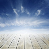 Floor and sky Royalty Free Stock Photo