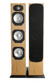 Floor Standing Stereo Speakers Stock Photography