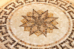 Floor star mosaic Stock Photography