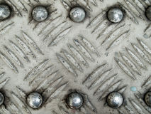 Floor steel plate Royalty Free Stock Image