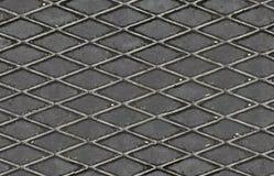 Floor steel sheet, seamless texture. Outdoor steel sheet, seamless texture, metal rivets plate Stock Images
