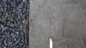 Floor and Stones Royalty Free Stock Photography
