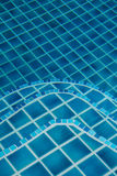 Floor of swimming pool Royalty Free Stock Photography
