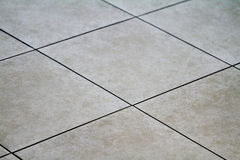 Floor tile. Cearamic tile floor brown and grey color Stock Photography