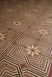 Floor tile at Chino portuguese houses in phuket Stock Photos