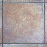 Floor tile with grouting Stock Image