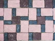 Floor tile pattern. Color cement floor tile pattern Royalty Free Stock Photography