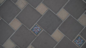 Floor tile pattern Royalty Free Stock Photo