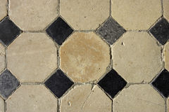 Floor tiles. Horizontal stock image
