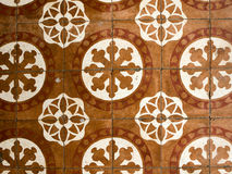 Floor tiles antique designs Royalty Free Stock Photos