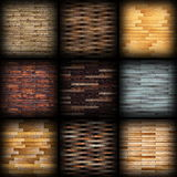 Floor tiles collection for design Stock Images