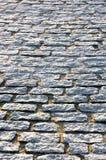 Floor tiles of granite paving stones Royalty Free Stock Photos