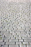 Floor tiles of granite paving stones Stock Photo