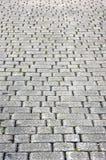Floor tiles of granite paving stones Stock Photo