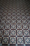 Floor Tiles Pattern Stock Image