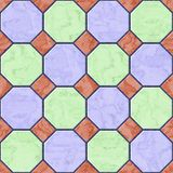 Floor tiles seamless generated hires texture Stock Image