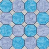 Floor tiles seamless generated hires texture Stock Images