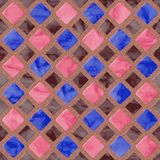 Floor tiles seamless generated hires texture Royalty Free Stock Photography