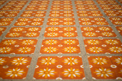 Floor tiles with typical Stock Photography