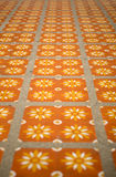 Floor tiles with typical Stock Images