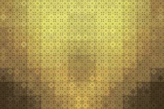 Background gold ceramic tile with geometric ornament royalty free illustration