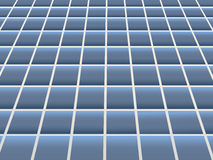 Floor tiling. Vector illustration of blue ceramic floor tiling vector illustration